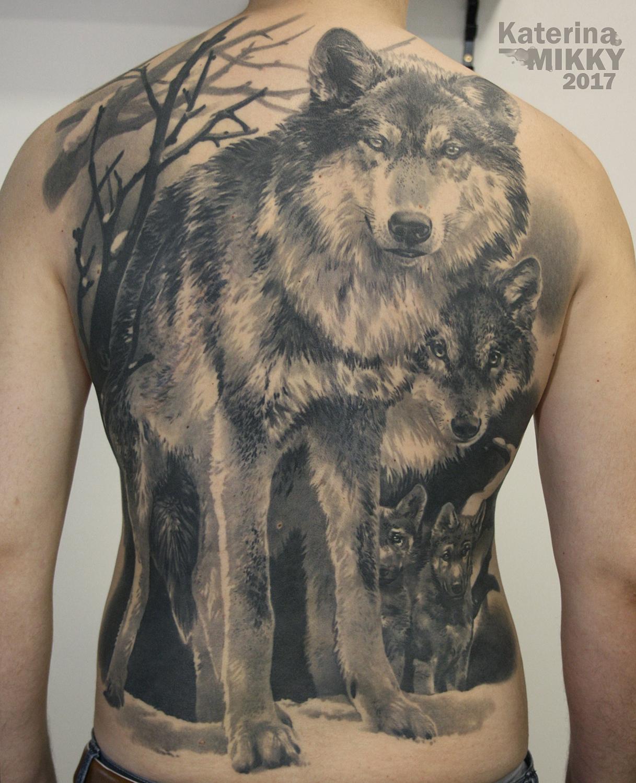 Татуировки с волком Искусство татуировки! Татуировки 90